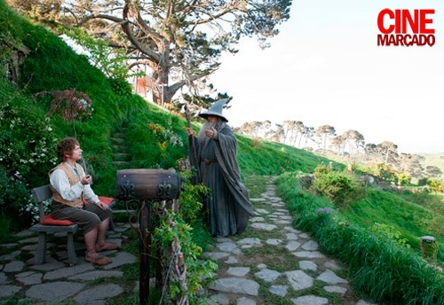 Elijah Wood, Ian McKellen at New Batch of Images from THE HOBBIT Released