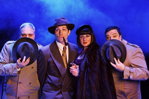 Photo Flash: First Look at Jesse R. Gephart, Tony Hefner and More in Raleigh Little Theatre's 39 STEPS