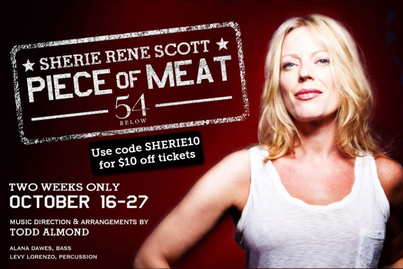 sherie rene scott rent