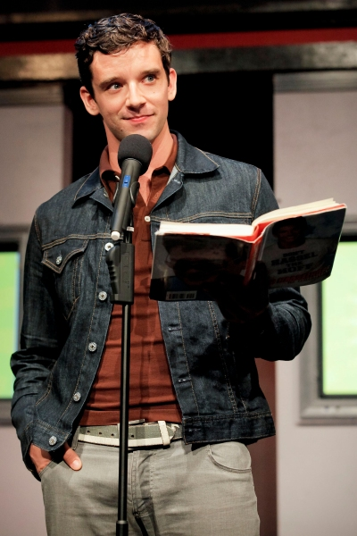 Michael Urie at Colin Hanks, Roger Bart & More in CELEBRITY AUTOBIOGRAPHY