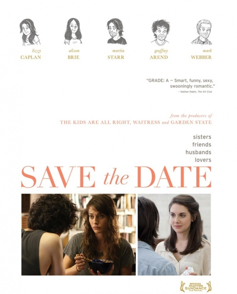Photo Flash: First Look - Poster Art for SAVE THE DATE
