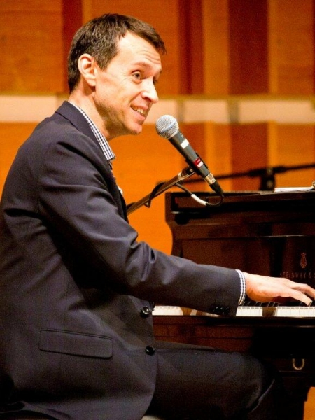Andrew Lippa at Inside Johnny Mercer Foundation's CELEBRATE!  BROADWAY CLOSE UP SERIES