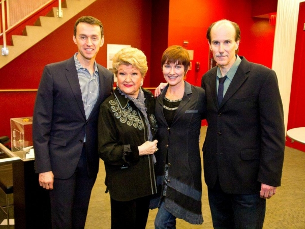 Andrew Lippa, Marilyn Maye, Lari White, and Craig Carnelia at Inside Johnny Mercer Foundation's CELEBRATE!  BROADWAY CLOSE UP SERIES