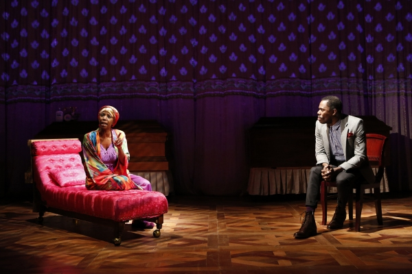 Photo Flash: First Look at Colman Domingo and More in Public Theater's WILD WITH HAPPY