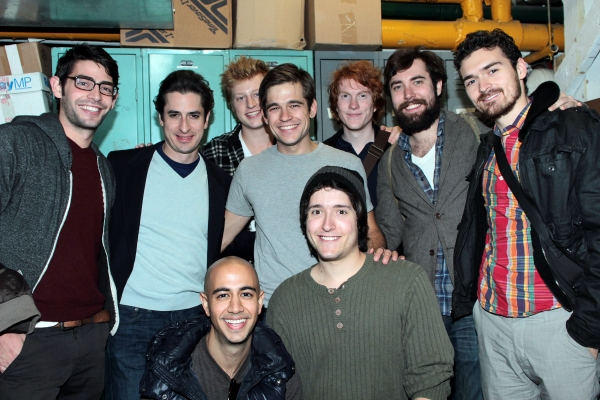 Photo Exclusive: PigPen Theatre Company Boys Visit PETER AND THE STARCATCHER