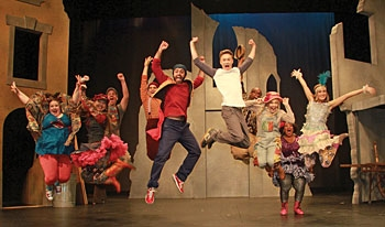 Photo Flash: First Look at Heather Kopp, Henry Gainza and More in Actors' Playhouse's GODSPELL