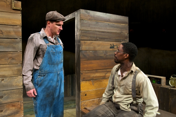 Photo Flash: First Look at Joe Tapper, Mark David Watson and More in Pioneer Theatre's OF MICE AND MEN