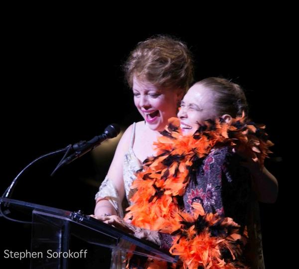 KT Sullivan & Julie Wilson at Inside Opening of the 23rd New York Cabaret Cabaret Convention