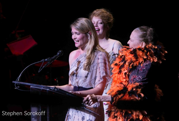 KT Sullivan Shana Farr, Julie Wilson at Inside Opening of the 23rd New York Cabaret Cabaret Convention