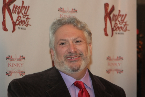 Harvey Fierstein at First Look at Opening Night of Chicago's KINKY BOOTS
