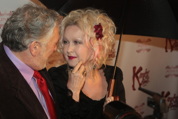 Harvey Fierstein and Cyndi Lauper at First Look at Opening Night of Chicago's KINKY BOOTS