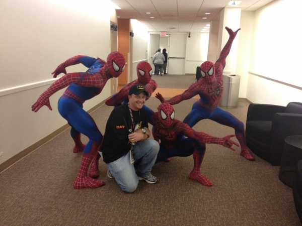 Photo Flash: SPIDER-MAN Cast Visits NYC Comic Con