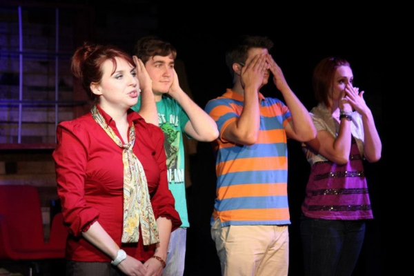 Heather Hall, Tyler Galindo, Hunter Frederick, Erin Wasmund Photo