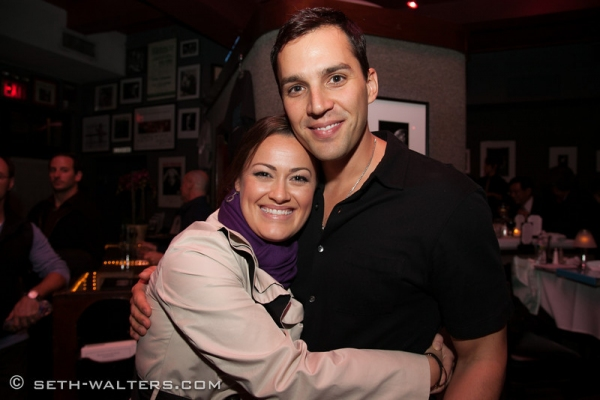 Ashley Brown and Ryan Silverman at Frank Wildhorn, Jane Monheit, Clint Holmes & More at FRANK & FRIENDS