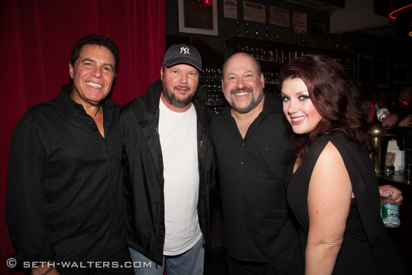 Clint Holmes, Christopher Cross, Frank Wildhorn and Jane Monheit Photo