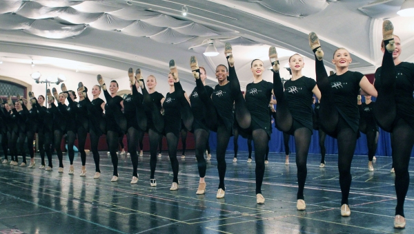 Photo Flash: ROCKETTES Rehearse for 2012 Radio City Christmas Spectacular