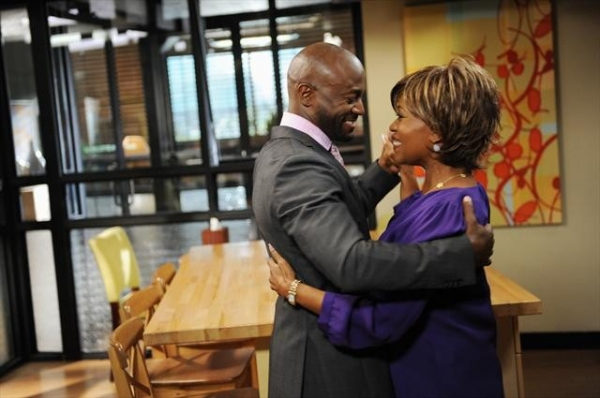 TAYE DIGGS, ALFRE WOODARD    at First Look at PRIVATE PRACTICE's Episode 'The Next Episode,' 10/30