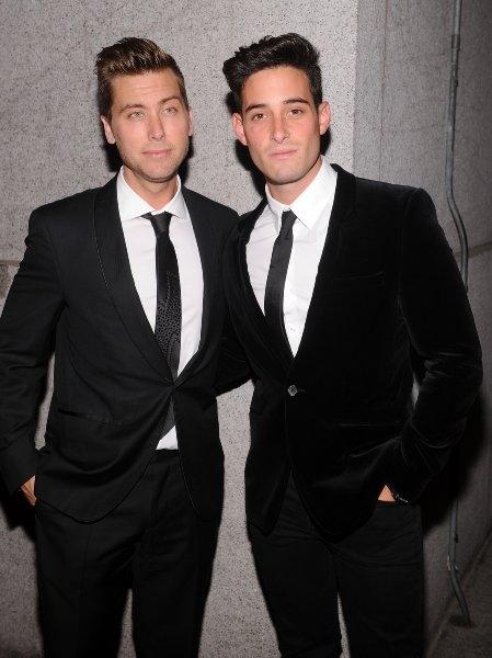 Lance Bass and Michael Turchin Photo