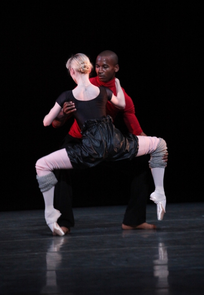 Photo Coverage: Royal Ballet's Sarah Lamb & Erik Underwood Perform LIMEN PAS DE DEUX