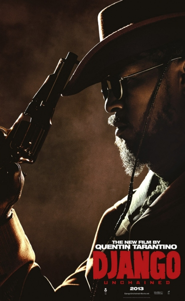 Jamie Foxx at Character Posters for Tarantino's DJANGO UNCHAINED Released