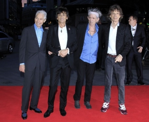 Photo Flash: Rolling Stones Rock the Red Carpet at CROSSFIRE HURRICANE Premiere