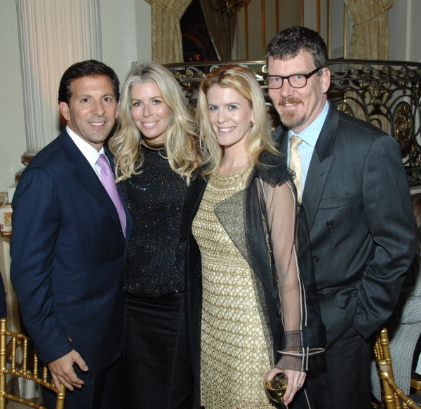 Aviva Drescher and Alex McCord with their spouses
