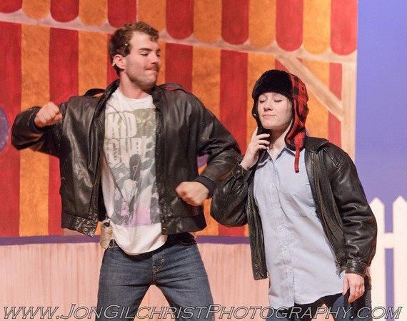 Matt Karsten and Olivia Adams