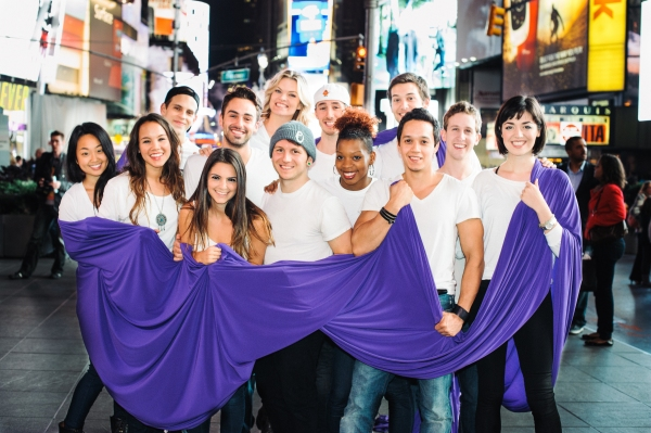 Photo Flash: BARE Cast Wears Purple for Spirit Day!