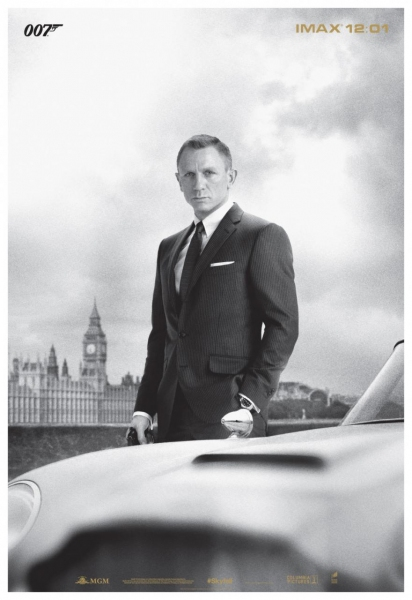 First Look: SKYFALL IMAX Exclusive Poster Revealed