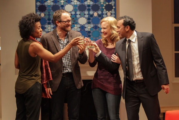 Photo Flash: LCT3's DISGRACED Opens Monday; See the Production Shots!