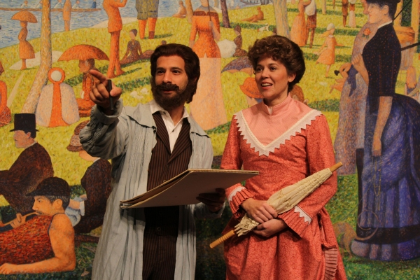Photo Flash: First Look at Joey Clark, Jennifer Eckes and More in BTAC's SUNDAY IN THE PARK WITH GEORGE