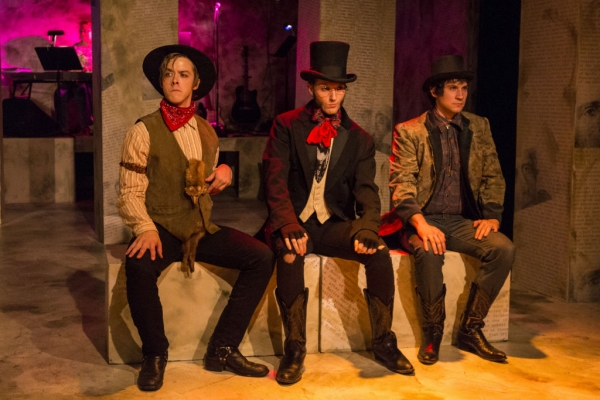 Photo Flash: First Look at Clay Comer and More in MET's BLOODY BLOODY ANDREW JACKSON