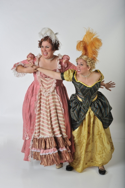 Daniella Painton (Stepsister Joy) and Jennylind Paris (Stepsister Grace)