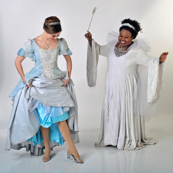 Samantha Bruce (Cinderella) and Illeana Kirven (Fairy Godmother) Photo