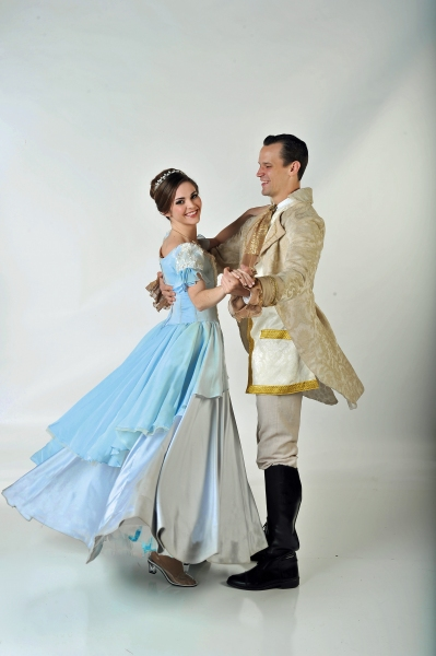Samantha Bruce (Cinderella) and Jake Delaney (Prince)
