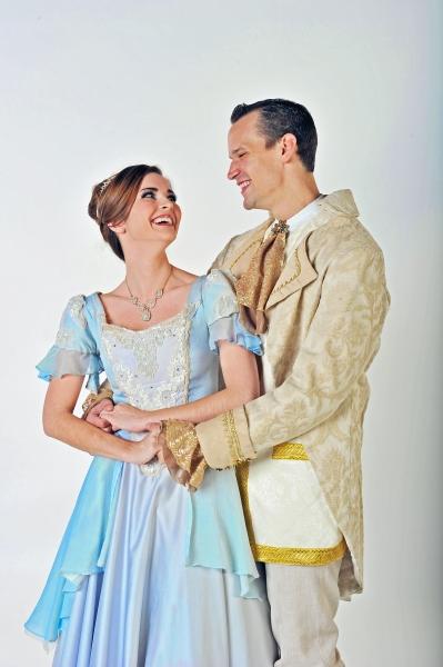 Samantha Bruce (Cinderella) and Jake Delaney (Prince)