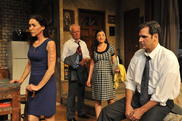 Photo Flash: First Look at TIME STANDS STILL at Sierra Rep