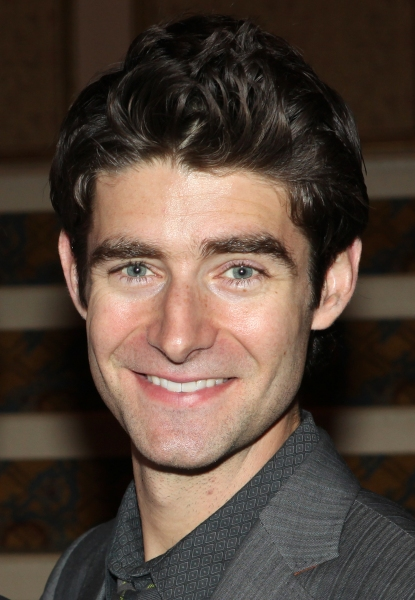 Drew Gehling  at FRANKIE VALLI AND THE FOUR SEASONS Opening Night Reception