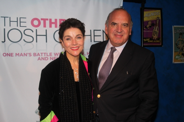 Christine Andreas and Martin Silvestri
