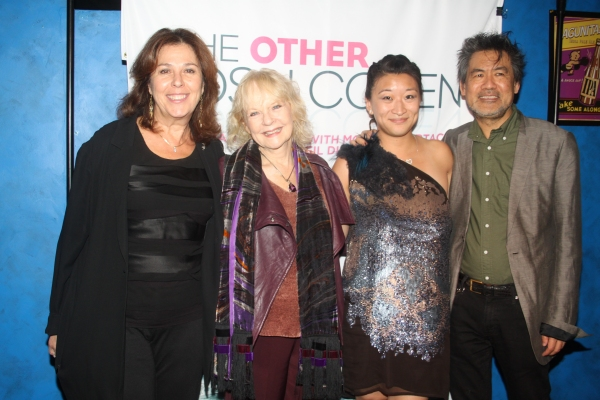 Donna Trinkoff, Penny Fuller, Lily Fan and David Henry Hwang