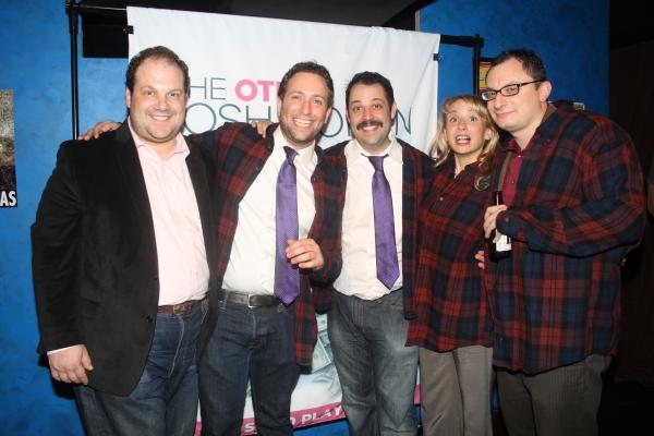 Jordan Gelber, David Rossmer, Steve Rosen, Sarah Salzberg and Dan Lipton