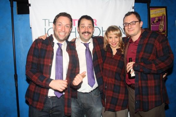 David Rossmer, Steve Rosen, Sarah Salzberg and Dan Lipton