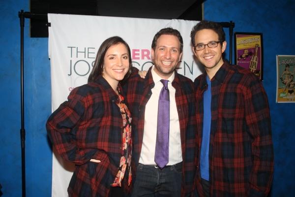 Jessica Hershberg, David Rossmer and Santino Fontana  Photo