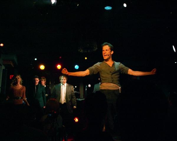 Anderson Davis with Lindsey Gort, Von Smith, and Jason Paige