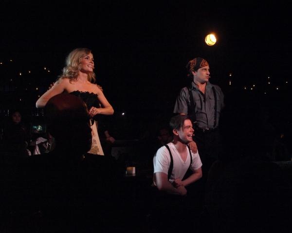 Lindsey Gort, Von Smith, and Jason Paige