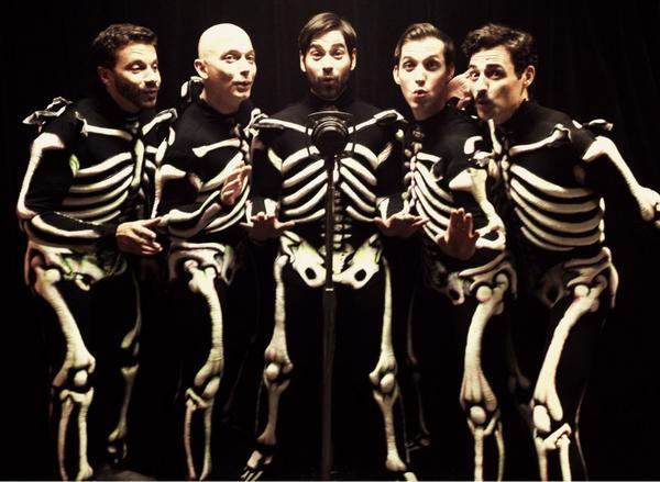 Photo Flash: Saturday Intermission Pics, Oct 20 - Part 2 - EVITA 'SkeleTONES', BOOK OF MORMON Playdates & More!