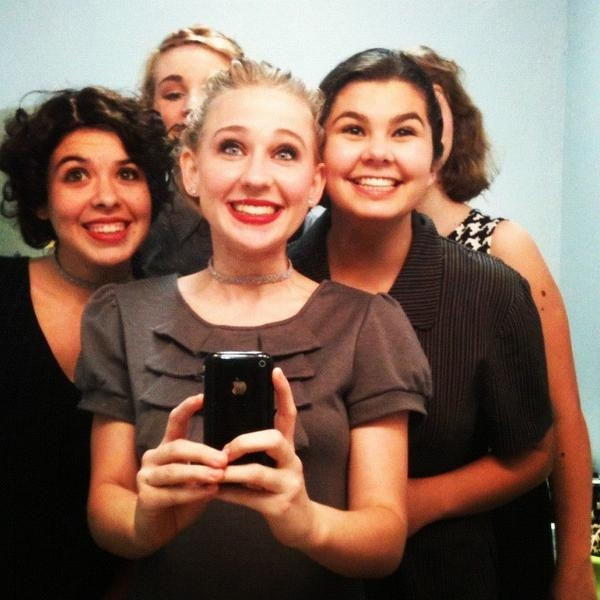 Photo Flash: Saturday Intermission Pics, Oct 20 - Part 2 - EVITA 'SkeleTONES', BOOK OF MORMON Playdates & More!