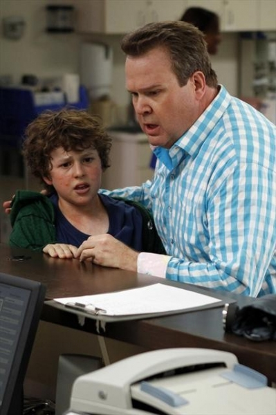 NOLAN GOULD, ERIC STONESTREET    at First Look at MODERN FAMILY's Episode, 'Arrested,' 11/7