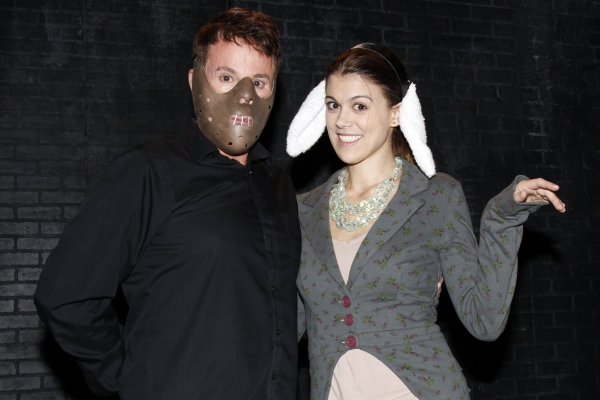 Photo Flash: PRETTY LITTLE LIARS' Lindsey Shaw Visits SILENCE! THE MUSICAL