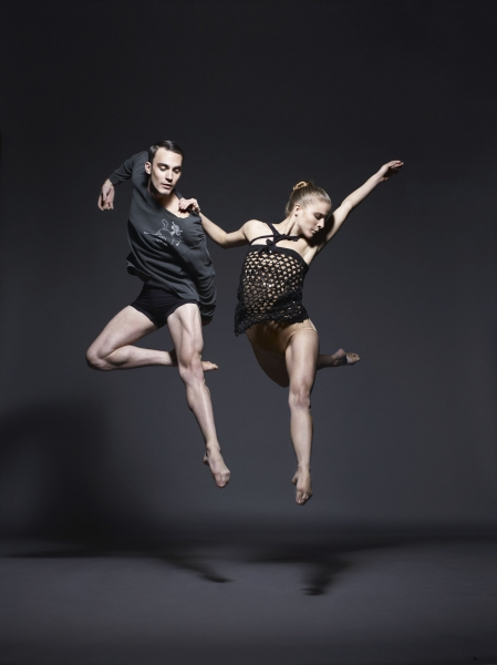 Reed Luplau and Natalie McKessy in Underland.Photo by Sarah Silver. Photo